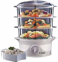 Russell Hobbs 21140 3-Tier Food Steamer, 800 W, 9