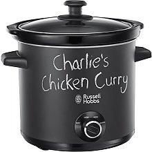 Russell Hobbs 24180 Chalkboard Slow Cooker, 3.5 L,
