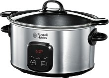 Russell Hobbs 6L Digital Slow Cooker - Stainless