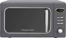 Russell Hobbs 700W Retro Standard Microwave