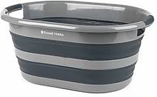 Russell Hobbs Collapsible Plastic Oval Laundry