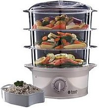 Russell Hobbs Your Creations 3 Tier Food Steamer -