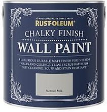 Rust-Oleum Chalky Finish 2.5-Litre Wall Paint &Ndash; Steamed Milk