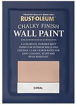 Rust-Oleum Chalky Finish Wall Paint Tester Sachet &Ndash; Coral