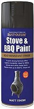 Rust-Oleum Stove & Bbq Spray Paint Black Matt 400Ml