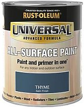 Rust-Oleum Thyme Satin Finish Universal Metal And All Surface Paint - 750Ml