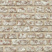 Rustic Brick Wallpaper, Paper - 889604 - Arthouse