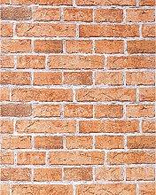 Rustic brick wallpaper wall EDEM 583-23 decorative