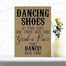 Rustic Dancing Shoes Tired Feet Wedding Flip Flop