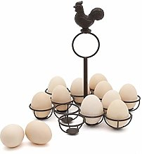 Rustic Egg Basket Display Tray Holder for