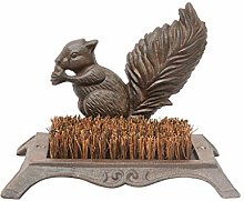 Rustic Farmyard Squirrel Cast Iron Combined Boot
