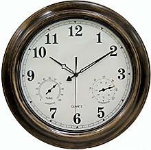 Rustic Kids Large Radio Controlled Wall Clock With