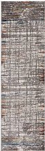 Rustic Textures RUS12 Grey Multi Runner 66 x 230cm
