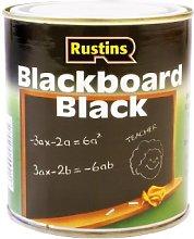 Rustins 1L Quick Dry Blackboard Paint - Black by