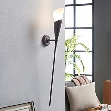 Rusty brown wall torch Estelle