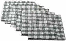 Ruth&Boaz Cotton Buffalo Check Square Tablecloth