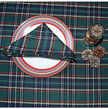 Ruth&Boaz Traditional Scottish Tartan Plaid Square