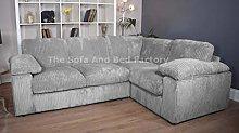 Ruxley Large 4 Seater Fabric Corner Sofa L Shaped