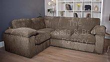 Ruxley Large Fabric 4 Seater Corner Sofa - 1