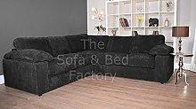 Ruxley Large Fabric 5 Seater Corner Sofa - 2