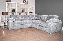 Ruxley Large Fabric 5 Seater L Shaped Corner Sofa