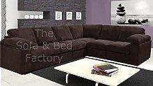 Ruxley Large Fabric 6 Seater Corner Sofa - 3