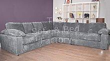 Ruxley Large Fabric 7 Seater Corner Sofa - 3