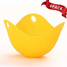 RX Egg Poacher Cups For Cooking (4 Pack) -
