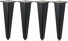 RXDP 4×Aluminum Furniture Legs, Adjustable Sofa,