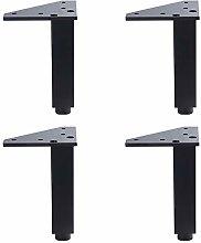 RXDP Aluminum Alloy Furniture Legs×4, Adjustable