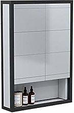 RXDP Aluminum Bathroom Mirror Cabinet,