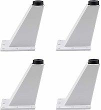 RXDP Aluminum Furniture Legs×4, Square Adjustable