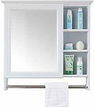 RXDP Bathroom Mirror Cabinet, Wall-Mounted