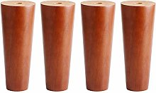 RXDP Solid Wood Sofa Legs×4, Home Coffee Table,