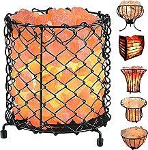 RXL Himalayan Salt Lamp Basket with Pure Salt