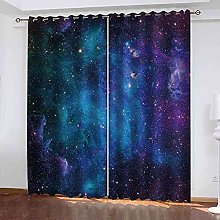 RXWZRL Blackout Curtains For Living Room 100X214Cm