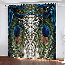 RXWZRL Blackout Curtains For Living Room 117X230cm