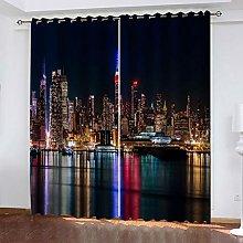 RXWZRL Childrens Blackout Curtains Bedroom Super