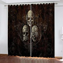RXWZRL Eyelet Curtains For Living Room 100X160cm