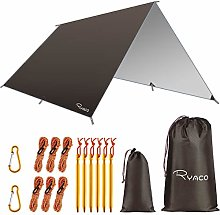 RYACO Hammock Rain Fly Tent Tarp, 3m x 3m