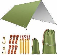 RYACO Hammock Rain Fly Tent Tarp, 3m x 4m