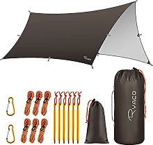 RYACO Hammock Rain Fly Tent Tarp, Waterproof