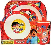 Ryan´s World Childrens/Kids Tableware Set (Pack