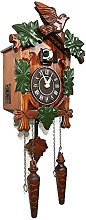 Rylai Vintage Wall Clock Handcrafted Wood Cuckoo