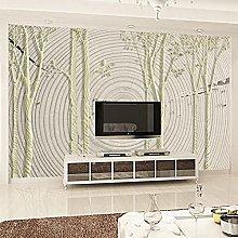 rylryl 3D Annual Ring Mural Wallpaper Home Decor