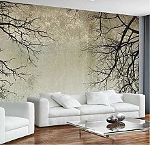 rylryl 3D Wallpaper Home Decorations Tree Branches