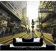 rylryl City Building Wallpaper 3D Modern City