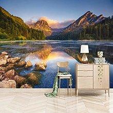 rylryl Forest Lake Natural Landscape 3D Mural