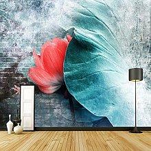 rylryl Modern Art Wallpaper 3D Flower Chinese
