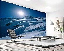 rylryl Natural Scenery Wallpaper Sunshine White